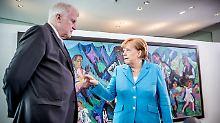 """Horst Seehofer legt nach. Die CDU habe """"mit der Flüchtlingsentscheidung 2015 die Spaltung Europas herbeigeführt""""."""
