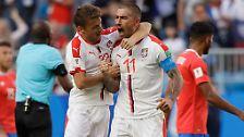WM-Tag 4 in Bildern: Kolarov zaubert, Mexiko überrascht DFB-Elf