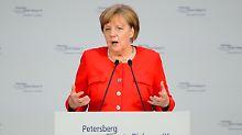 CO2-Reduktion an zweiter Stelle: Merkel will zuerst an Kohlereviere denken
