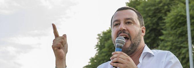 Zu Salvinis Lieblingsfeinden zählen auch die Deutschen.