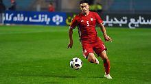 Der Sport-Tag: Irans Mohammadi erntet Lacher für Einwurf
