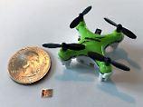 Sparsam, aber leistungsfähig: Chip-Winzling navigiert Mini-Drohnen
