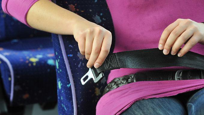 Bei den Fahrern ohne Gurt sind Frauen mit 38 Prozent in der Minderheit.