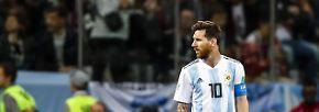 WM-Tag 8 in Bildern: Dänen zittern, Peruaner weinen, Kroaten entzaubern Messi