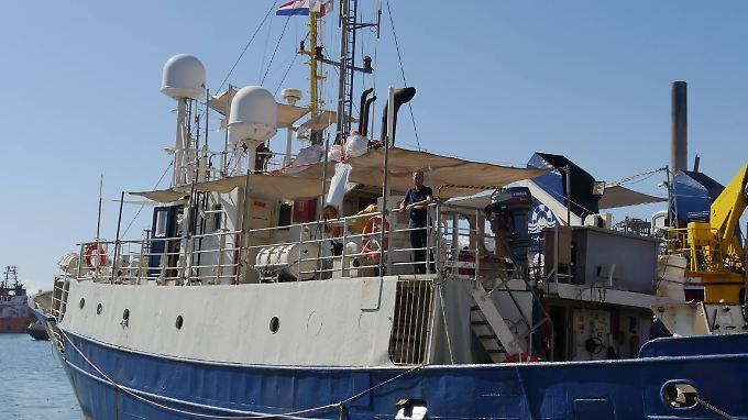 """Die Mission """"Lifeline"""" ist seit September 2017 auf dem Mittelmeer aktiv."""