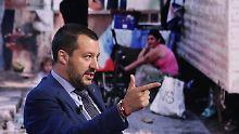 """""""Können keinen mehr aufnehmen"""": Italiens Innenminister deutet Ende der EU an"""