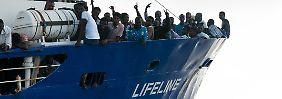 Odyssee auf dem Mittelmeer: Malta verwehrt Rettungsschiff die Einfahrt