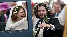 "Jon Snow heiratet seine Ygritte: ""Game of Thrones""-Stars sagen Ja"