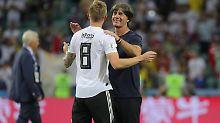 Der Sport-Tag: Löw freut sich über Kroos' DFB-Entscheidung