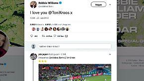 """""""I love you @ToniKroos"""": Fans und Promis feiern deutschen Last-Minute-Sieg"""