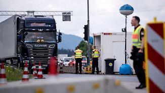 Kritik an Seehofer-Plan: Spediteure fürchten Grenzkontrollen