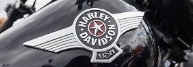 """""""Habe hart für sie gekämpft"""": Trump irritiert über Harley-Davidson"""