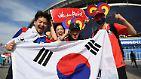 Für die Südkoreaner geht es um die Ehre, aber die wird in Asien bekanntermaßen groß geschrieben.