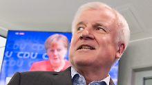 Was, wenn die Union zerbricht?: CDU käme in Bayern auf 33 Prozent