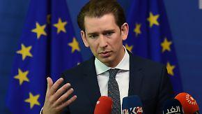 Merkel ringt um EU-Lösung im Asylstreit: Kurz frohlockt, Tsipras leistet Schützenhilfe