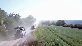 Wildnis hinter Würzburg samt Rekord: Weltgrößte Allradmesse suhlt sich im Schlamm