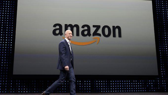 Hat gut lachen: Amazon-Gründer und Großaktionär Jeff Bezos ist der reichste Mensche der Welt.