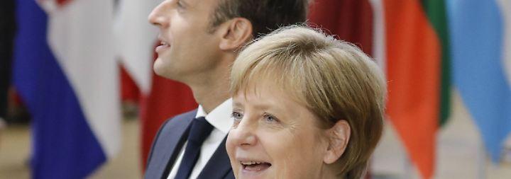 """Merkel spricht von """"guter Botschaft"""": EU findet Kompromiss im Asylstreit"""