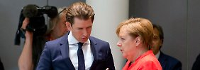 Erfolg für Merkel und Conte: Die Asylbeschlüsse des EU-Gipfels