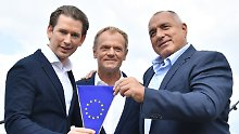 Wien übernimmt EU-Ratsvorsitz: Kurz will EU-Afrika-Gipfel zu Migration