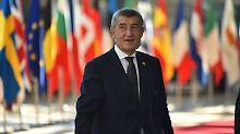 """""""Völliger Unsinn"""": Tschechien dementiert Flüchtlingsrücknahme"""