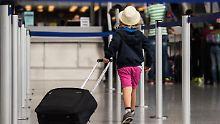 Empfehlungen für Reisende: Flughäfen machen sich für Ferien bereit