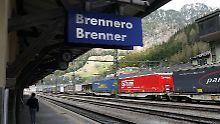 Der Bahnhof «Brenner» an der Grenze zwischen Österreich und Italien.