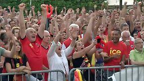 Traum von der WM-Krone: Später Sieg lässt belgische Fans ausflippen