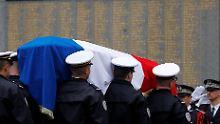 Gestresst, kritisiert, im Visier: Frankreich beklagt viele Polizisten-Suizide