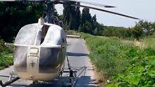 """Gefängnisausbruch in Frankreich: Hubschrauber-Geisel erzählt von """"Alptraum"""""""