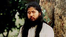 Sarin-Anschlag in Tokios U-Bahn: Sektengründer Asahara hingerichtet