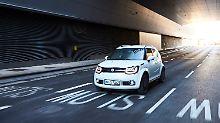 De Suzuki Ignis ist einer der wenigen allradgetriebenen kleinen SUV.