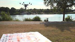 Fliegende Helfer am Badesee: Drohnen unterstützen Rettungsschwimmer