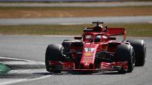 F1-Ausrufezeichen in Silverstone: Vettel bringt Hamilton ins Schwitzen