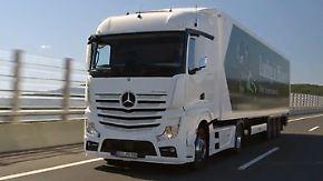Vertrieb vorläufig gestoppt: Daimler meldet auffällige Softwarefunktion bei Lkw-Motor