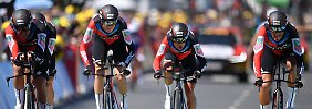 Starker Froome ausgebuht: BMC Racing gewinnt Teamzeitfahren