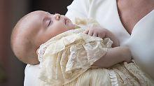 Uroma Elizabeth war nicht dabei: Prinz Louis im kleinen Kreis getauft