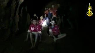 Eingeschlossene thailändische Jungen: Wie schwierig ist eine solche Situation für die Psyche?