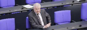 """""""Masterplan"""" nicht abgestimmt: SPD geht Seehofer hart an"""