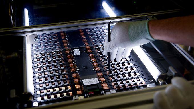 Der chinesische Hersteller CATL will in Thüringen eine Batteriezellen-Fabrik für Elektroautos bauen.