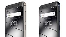 Deutsches Schnäppchen-Smartphone: Gigaset GS185 ist ein schicker Akku-Riese