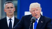 Donald Trump sieht sein Treffen mit Wladimir Putin als die leichtere Übung an.
