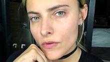 """""""Sehe nicht so beschissen aus"""": Sophia Thomalla schminkt sich ab"""