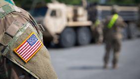 Umfrage: US-Soldaten in Deutschland
