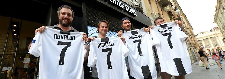 CR7-Eis und viel Motivation: Ronaldo versetzt Juve-Fans in Hochstimmung