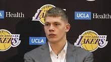 Der Sport-Tag: Deutscher Lakers-Basketballer Wagner verletzt