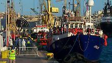"""Gerichtsentscheid auf Malta: """"Lifeline""""-Kapitän darf nach Deutschland"""