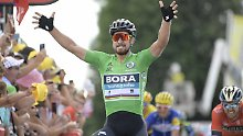 Deutsche werden abgehängt: Sagan siegt - und bricht Zabel-Rekord