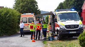 Ende Juni waren in einer Ferienanlage in Thüringen 45 Schüler und Betreuer an Norovirus erkrankt.