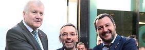 Seehofer hofft auf Abkommen: Innenminister wollen Grenzschutz ausbauen